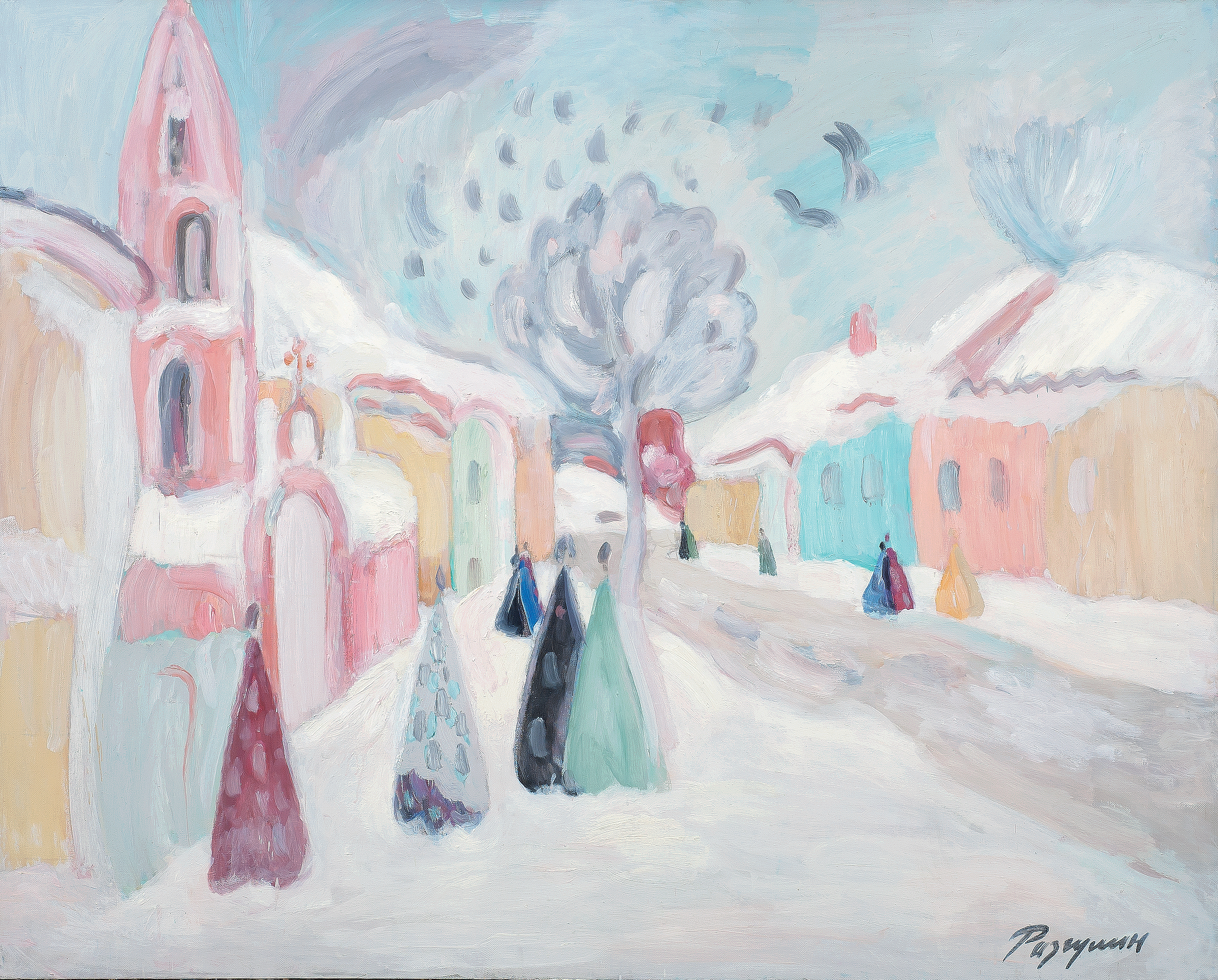 Painting for all. Exhibition in the Tobolsk Museum 40