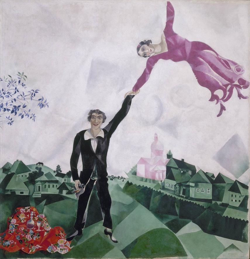 Marc Chagall The Promenade 1917-18 © ADAGP Paris and DACS, London 2013