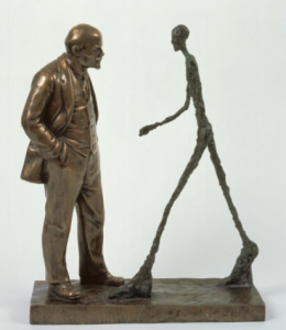 Leonid Sokov, The Meeting of Two Sculptures, courtesy of The Zimmerli Museum