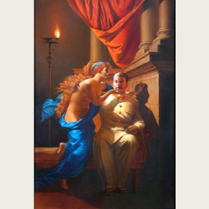 Komar and Melamid, The Origin of Socialist Realism, courtesy of the Zimmerli Museum
