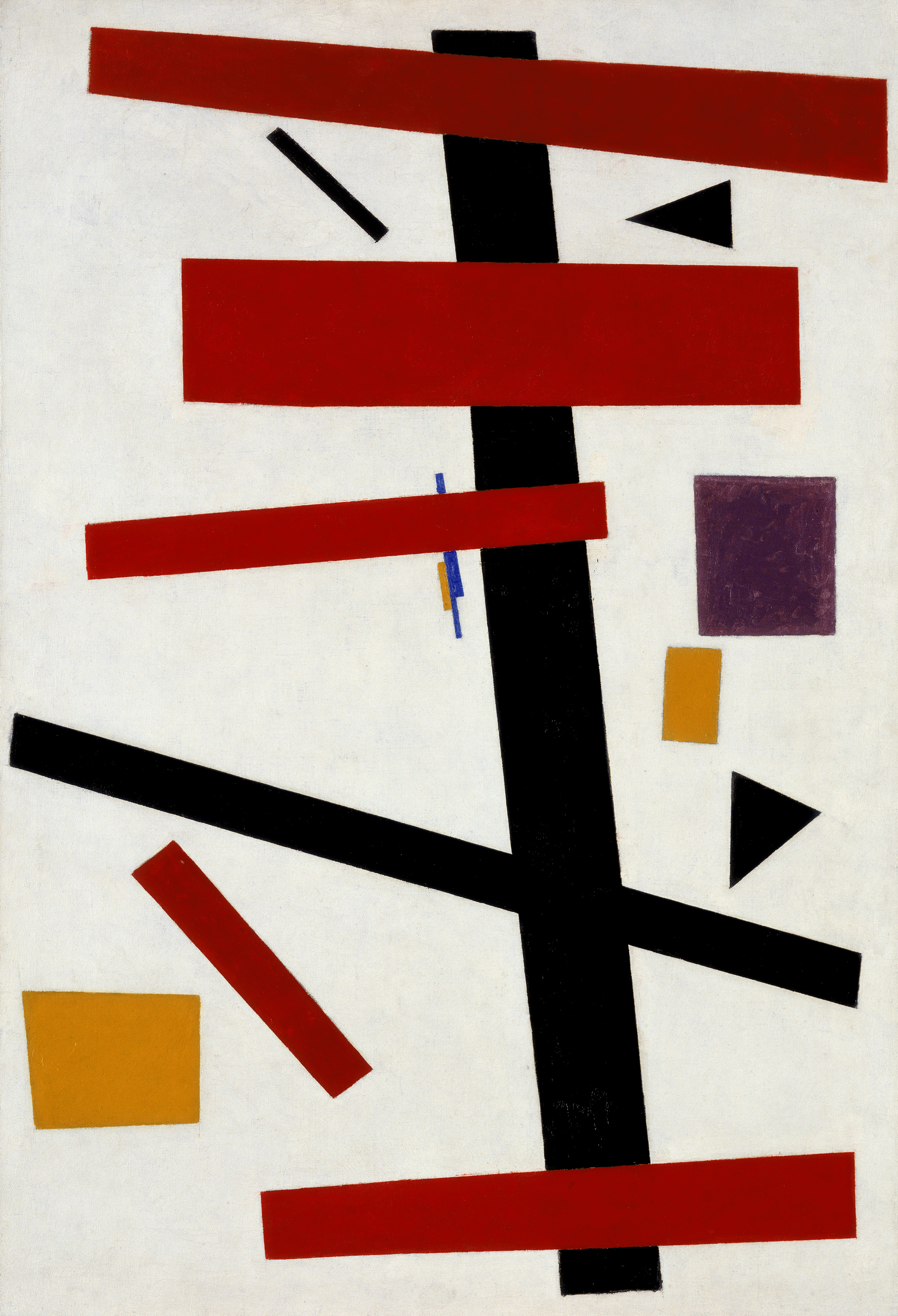 an analysis of suprematism in the painting red square by russian painter kasimir malevich Time has not been kind to kasimir malevich's painting, black square  of russian icons, a form of painting which aspires to present the divine as pure or.
