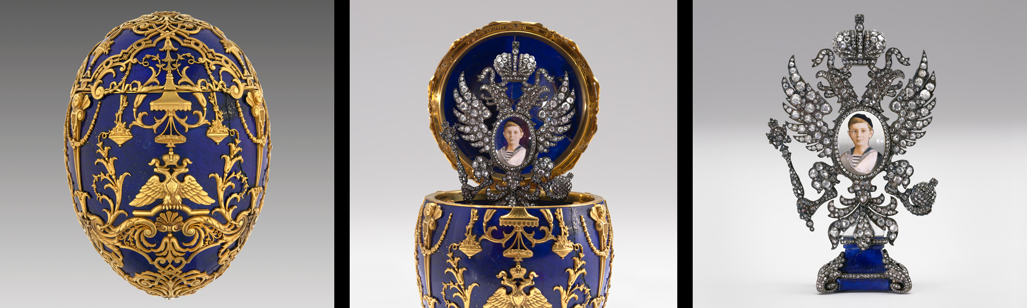 Exh fabulous faberg jeweller to the czars the montreal museum of imperial cesarevich easter egg by faberg firm 1912 photo katherine wetzel virginia museum negle Gallery