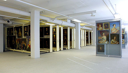 Painting Collection of the Department of Russian Culture at the Art Restoration and Storage Centre Staraya Derevnya / Courtesy of The State Hermitage