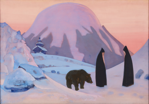 Nikolai Roerich, And We Are Not Afraid (1922) / Courtesy of Art Russe