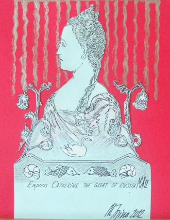 Empress Catherine The Great, 2012 / Courtesy of the artist
