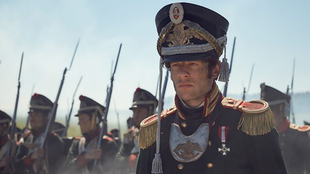 James Norton as Andrei Bolkonsky in BBC's drama War and Peace / Courtesy of BBC