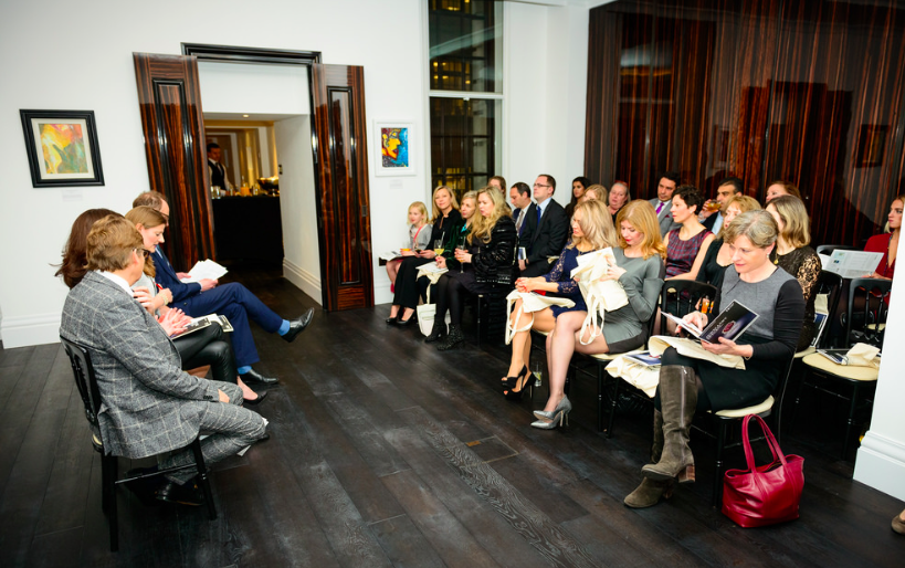 Russian Art Week Opening at The Corinthia Residences. Photography by Ed Lloyd Owen. Courtesy of Russian Art and Culture