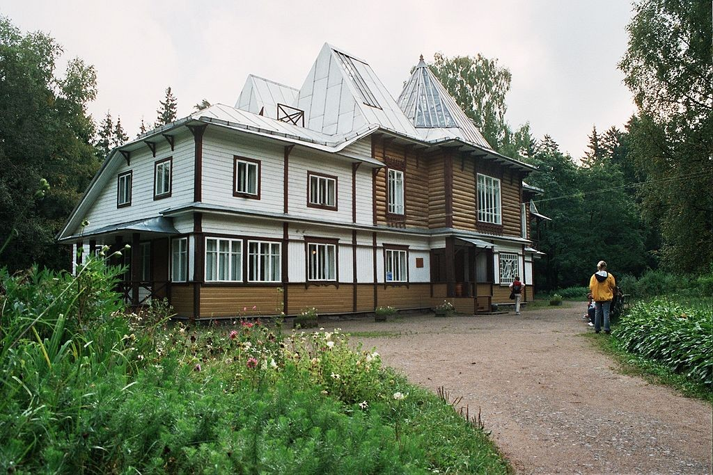 The Penates, the Repin House-Museum in Kuokkala, now Repino / Courtesy of Wikipedia