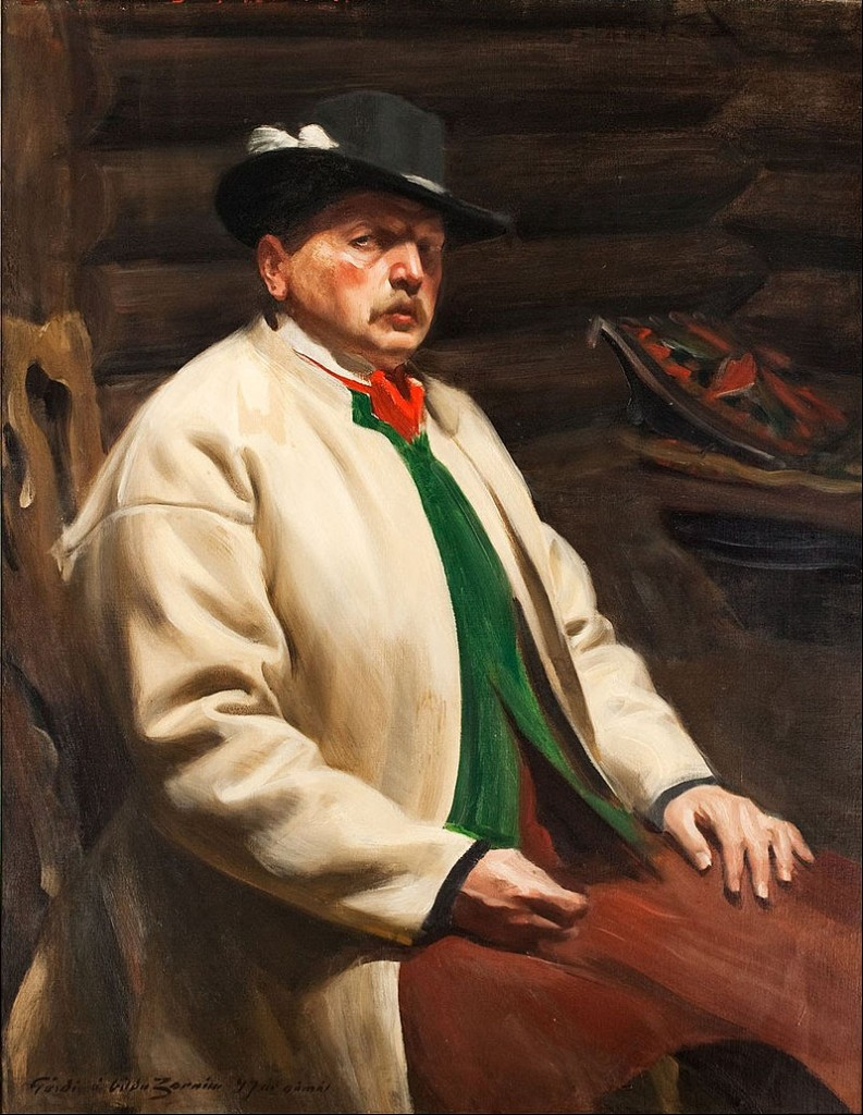 Anders Zorn, Self-Portrait, 1907 / Courtesy of Malmö Konstmuseum