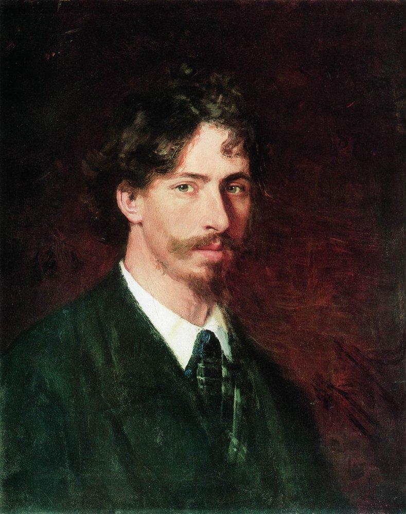 Ilya Repin, Self-portrait, 1878 / Courtesy of The State Russian Museum