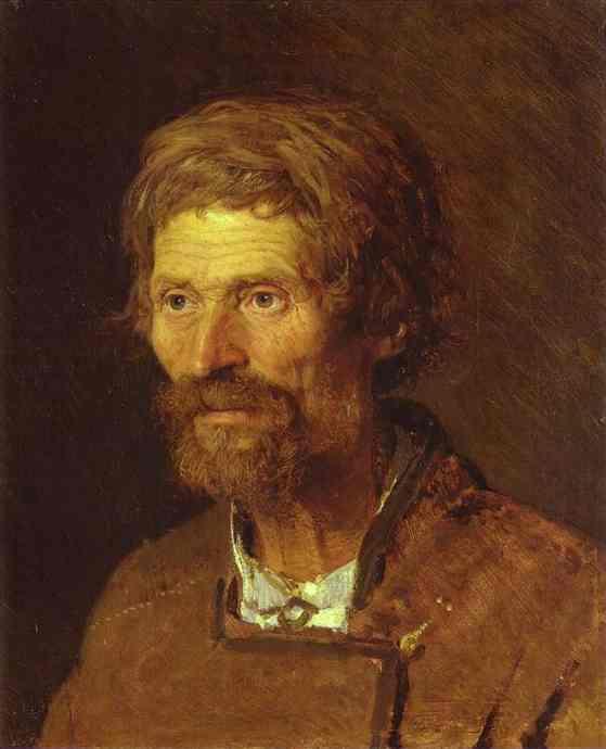Ivan Kramskoy, Head of an Old Ukranian Peasant, 1871 / Courtesy of The Museum of Russian Art, Kiev, Ukraine