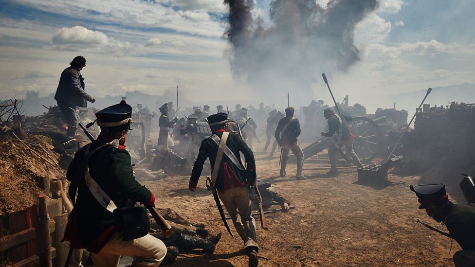 Borodino scene in BBC's War and Peace / Courtesy of BBC