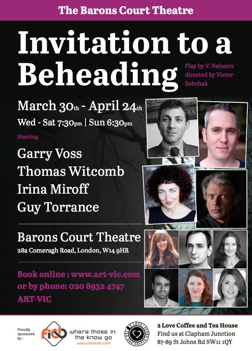 Invitation to a Beheading Summary & Study Guide