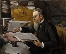 Nikolai Rimsky-Korsakov, Valentin Serov, 1898. Courtesy of State Tretyakov Gallery