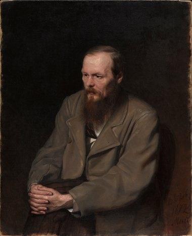 Portrait of Fedor Dostoyevsky, 1872, by Vasily Perov / Courtesy of the Tretyakov Gallery