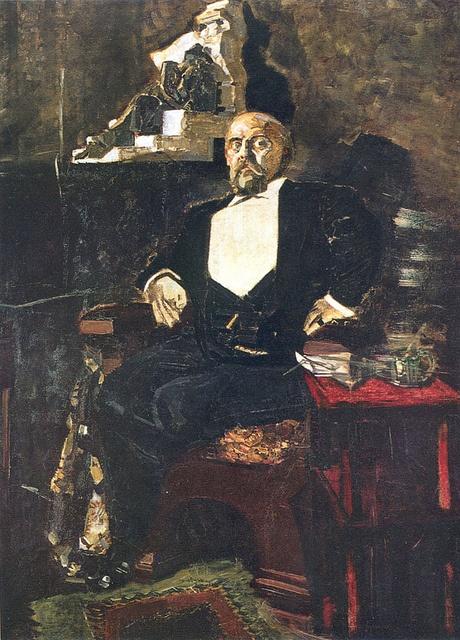 Portrait of Savva Mamontov by Mikhail Vrubel, 1897 / Courtesy of the Tretyakov Gallery