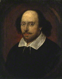 Portrait of William Shakespeare, associated with John Taylor, circa 1600-1610 / Courtesy of the National portrait Gallery