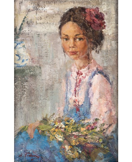 NICOLAI FECHIN, Little Native Girl / Courtesy of Shapiro Auctions