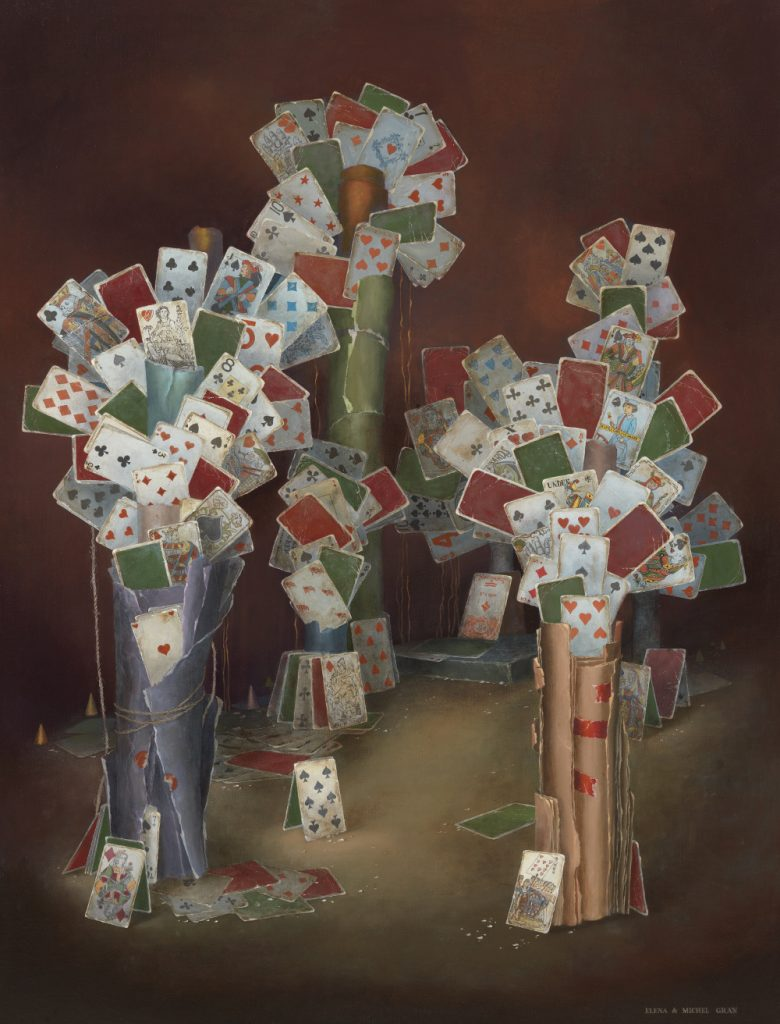 LPDF_16_Catto Gallery_Forest_of_Cards 130 x 97 cm
