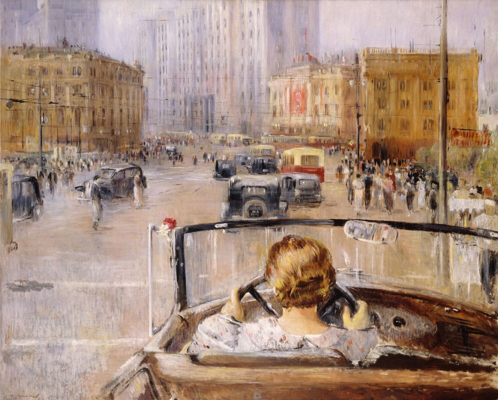Yury Pimenov, The New Moscow, 1937, The State Tretyakov Gallery, Moscow