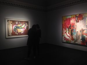 Installation view at Christie's London