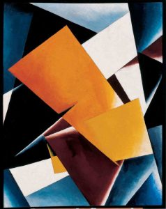 Lubov Popova, Painterly Architectonics,1918 / Courtesy of Slobodskoye Museum and Exhibition Center