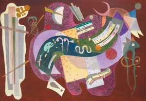Wassily Kandinsky, Rigid and Curved, 1935 / Courtesy of Christie's