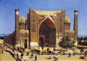 MURDEROUSLY HOT BUT NO ROD : SAMARKAND IN 1870 BY VASILY VERESCHAGIN