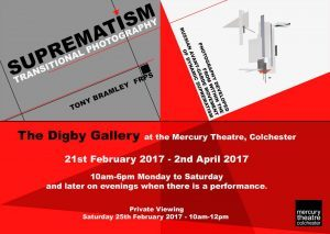 EXHIBITION: Suprematism Transitional Photography through Geometric Abstraction. Tony Bramley FRPS,  21st February – 2nd April 2017