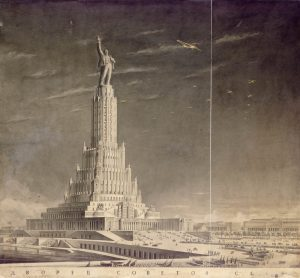 TALK: The Tallest Building In The World. Lecture by Professor Christina Lodder on Russian Design and the Palace of the Soviets, 21st March