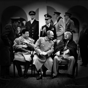 EXHIBITION: New Yalta – The New World Order at Ben Uri Gallery & Museum, Until 19th March