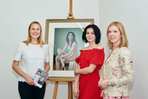 Beauty and talent will save the world! Ballerina Natalia Ossipova and Painter Svetlana Cameron Join Forces in Aid of the Gift of Life Foundation.