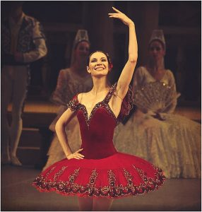 Maria Alexandrova performing at the Bolshoy Theatre