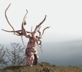 Artist & Sculptor Dashi Namdakov Installs 'Guardian of Baikal' For The Moscow Biennale 2017. Experience Parallel Worlds through Virtual Reality, 19 September – 18 January