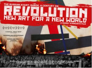 Margy Kinmonth film 'REVOLUTION – NEW ART FOR A NEW WORLD' will air on BBC4, 8 November