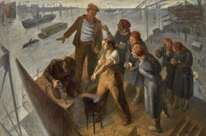 russian art week sotheby's serafima ryangina Student Excursion To The Baltic Shipyard
