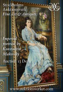 Auction: Fine Art & Antiques. Stockholms Auktionsverk, 13 December