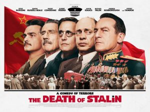 The Death of Stalin. A comedy of terrors. In cinemas October 20th