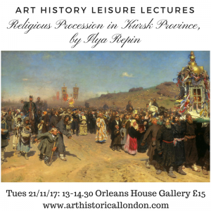 Religious Procession in Kursk Province, Ilya Repin. Lecture by Mariska Beekenkamp-Wladimiroff, 21 November