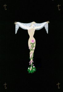 Erté's Alphabet Shows in London as Part of Erté: A Celebration, Grosvenor Gallery, Until 30 November