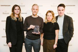 KRASNOYARSK-BORN ARTIST ALEXEY MARTINS WINS THE RUINART ART PATRONAT GRANT