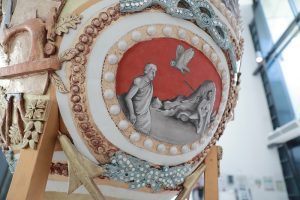 A Giant Fabergé Egg for Wales. The Royal Welsh College of Music & Drama