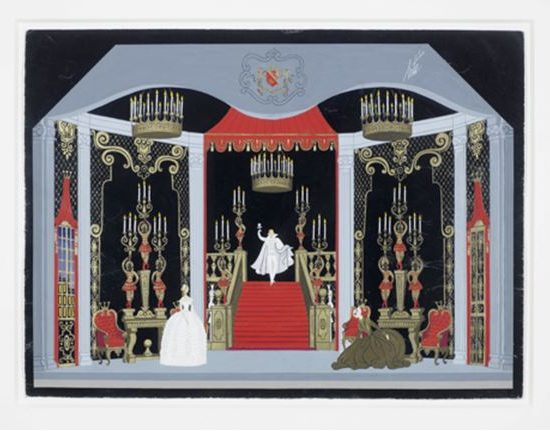 STYLE AND PANACHE AT BONHAMS SHOW OF ERTÉ'S DESIGNS FOR GLYNDEBOURNE OPERA, 22-26 May