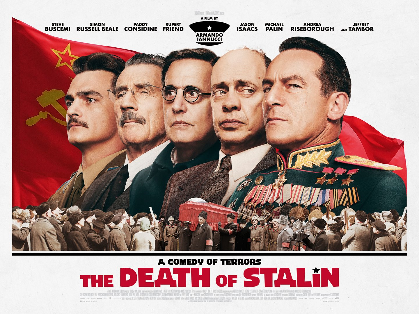 The Death of Stalin. A comedy of terrors. In cinemas ...