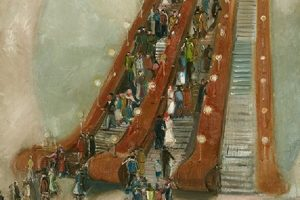 Moscow Through the Ages, the Tretyakov Gallery, until 21 January