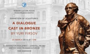 St. Petersburg – London: a Dialogue Cast in Bronze by Yuri Firsov