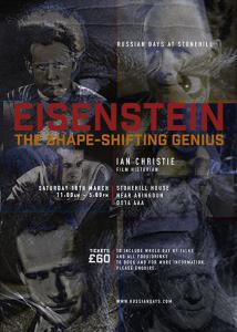 Prof. Ian Christie on Eiseinstein at Stonehill House, Abingdon
