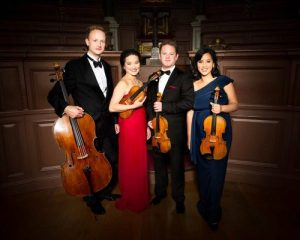 PUSHKIN HOUSE MUSIC SALON: TISCHENKO and SHOSTAKOVICH BY THE VILLIERS STRING QUARTET