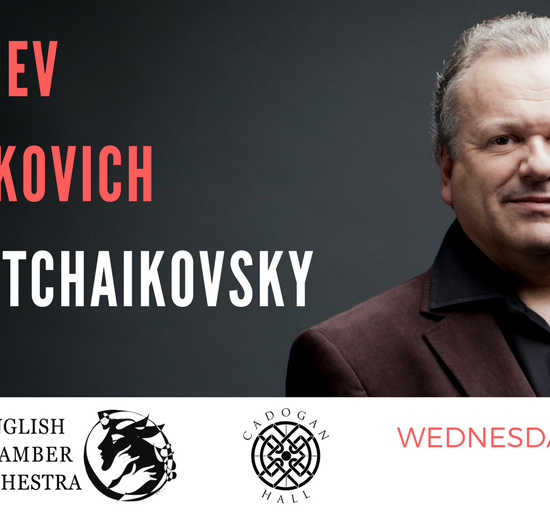 English Chamber Orchestra Perform the All-Russian Programme