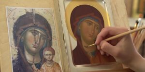 Iconography – a workshop on icon painting with egg tempera